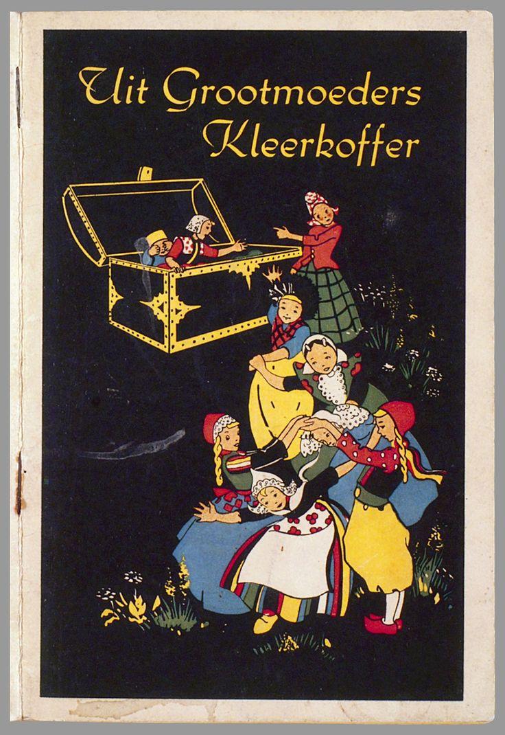 Uit grootmoeders kleerkoffer / tekst en tekeningen van Froukje van der Meer 1943 #Veluwe #Gelderland #Harderwijk #oudedracht  #Volendam #Marken #NoordHolland #Hindeloopen #Friesland #Axel #Zeeland #Spakenburg #Utrecht