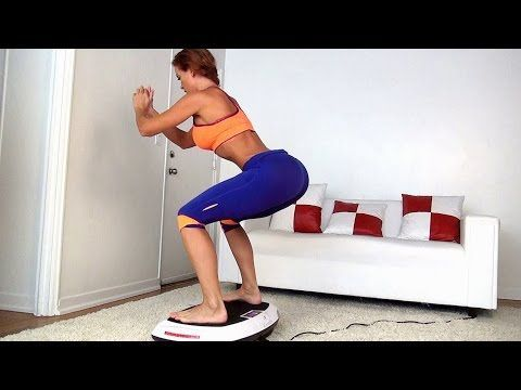 Fit Healthly Body Toning Workout on Casada Power Board - YouTube
