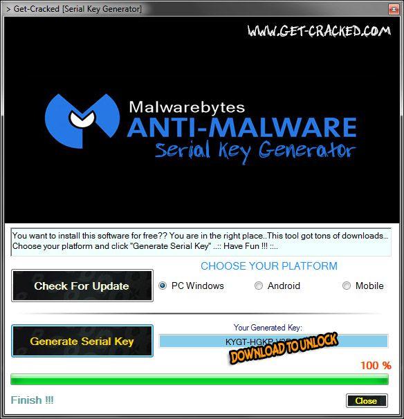 Malwarebytes Anti-Malware Free Serial Keys