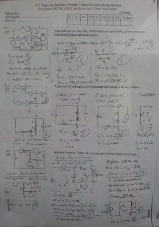 E.E.M.nin Temelleri -2 Vize Soruları ve Çözümleri