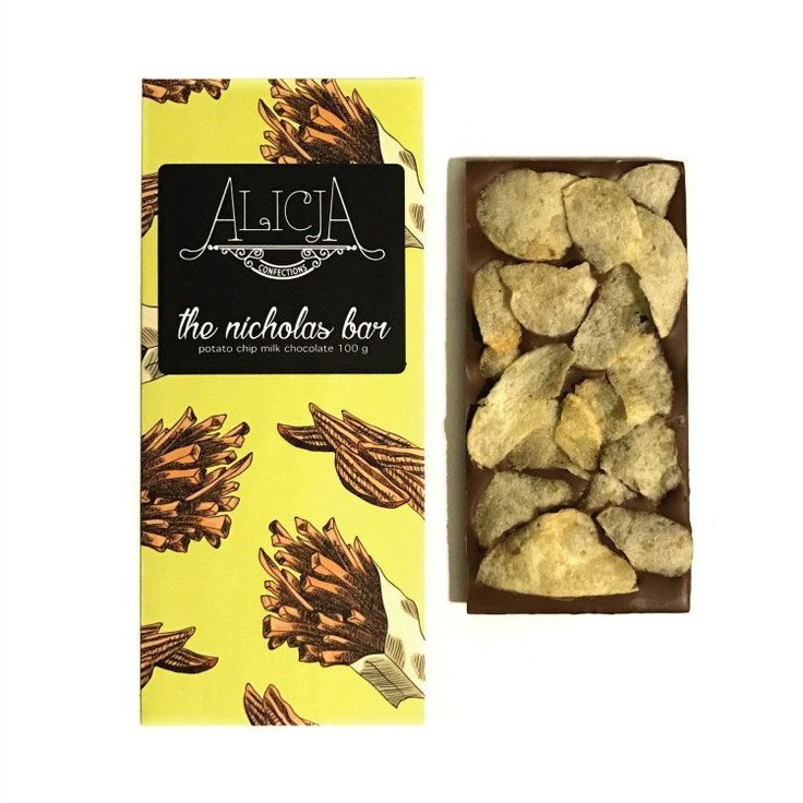 the nicholas bar • milk chocolate potato chips
