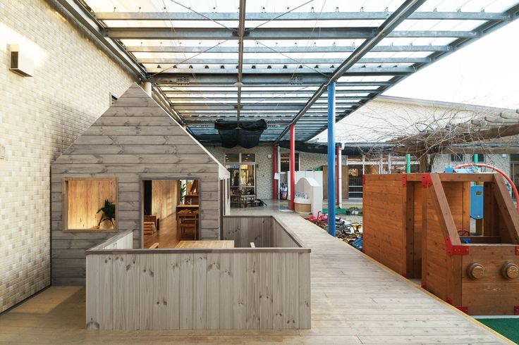 Gallery of KS Kindergarten / HIBINOSEKKEI + Youji no Shiro + Kids Design Labo - 10
