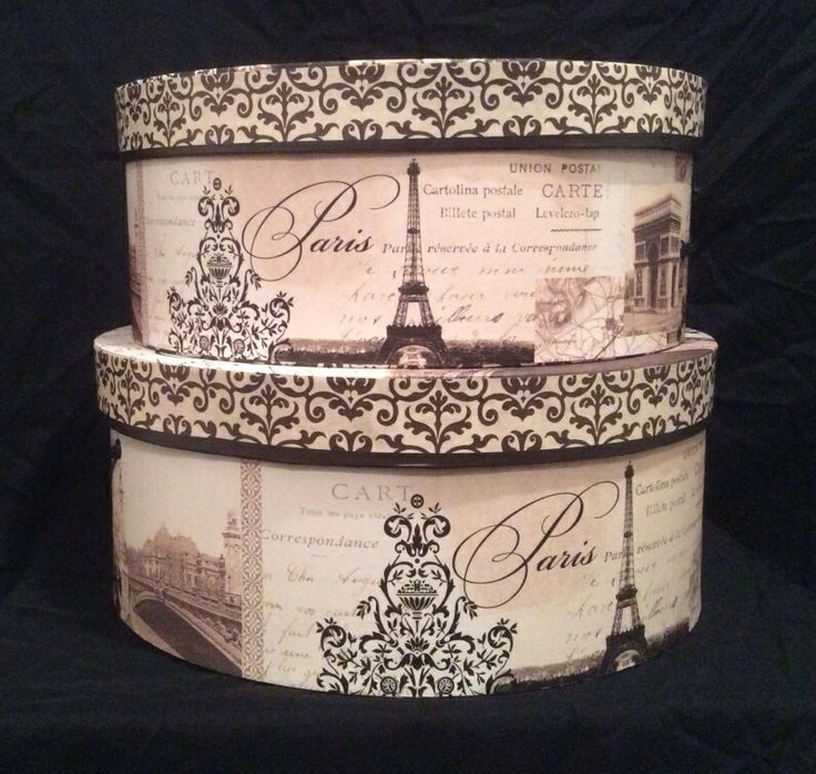 Round Decorative Boxes: 25+ Best Ideas About Hat Boxes On Pinterest