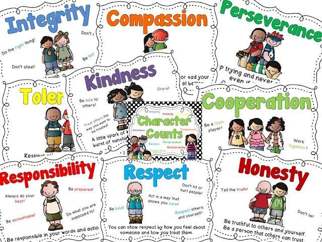 30 best character traits images on Pinterest Books, Children and - positive character traits