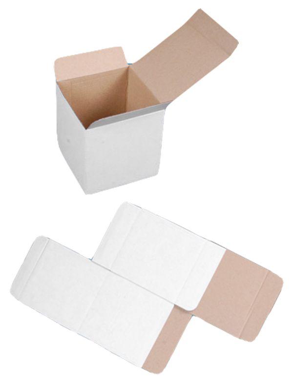 150x150x110 mm KARTON FALTKARTON SCHACHTEL MINI KARTON S NEU Menge wählbar  Unsere Kartons sind dreischichtig, weiss, Welle B 400 g.