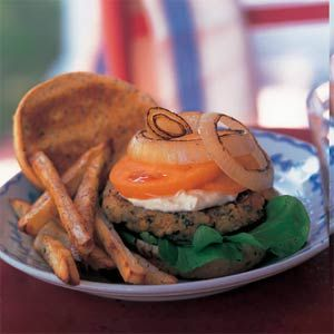 Red Lentil burgers
