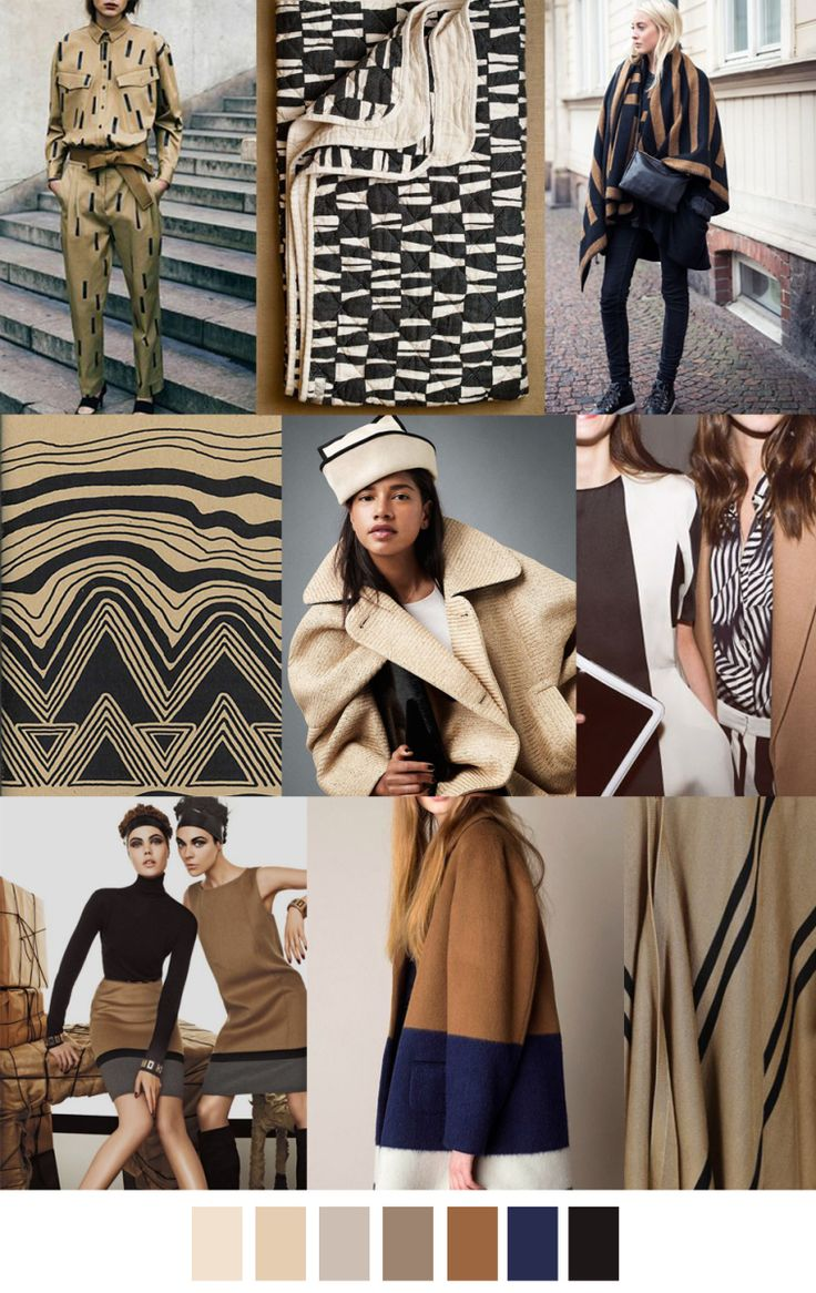 F/W 2016-17 COLORS & PATTERN TREND: TANLINES
