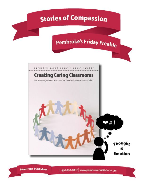 """Do your students truly understand compassion? Do they know what compassion looks like """"in action""""? These response activities, from Kathy Lundy & Larry Swartz' """"Creating Caring Classrooms,"""" will help students see compassionate behavior from a number of different viewpoints."""