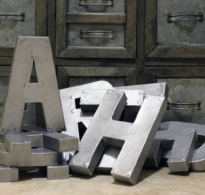 Буквы декоративные Beta, фото 3