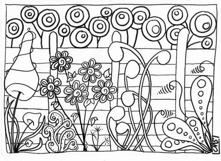 Et voila le deuxi�me coloriage pondu sur un coin de la table de la salle des maitres � midi... �a commence � devenir une habitude mais que �a fait du bien de se relaxer un moment en gribouillant!! Cette fois-ci, c'est un jardin! - jardin.pdfEt voila...