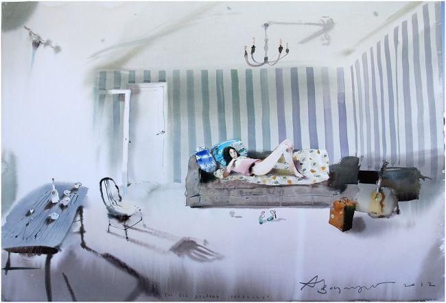 Кипящая акварель Воцмуша Под псевдонимом Аруш Воцмуш скрывается талантливейший художник изСевастополя Александр Шумцов.