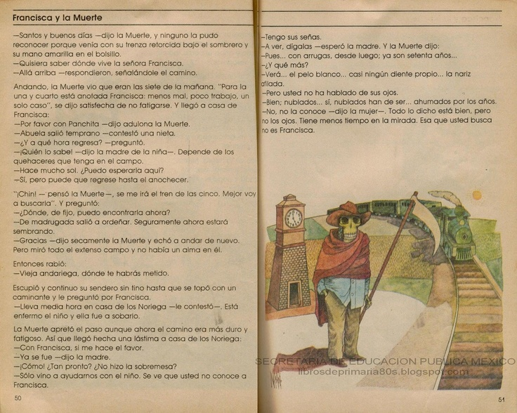 libro de español de 3º grado.