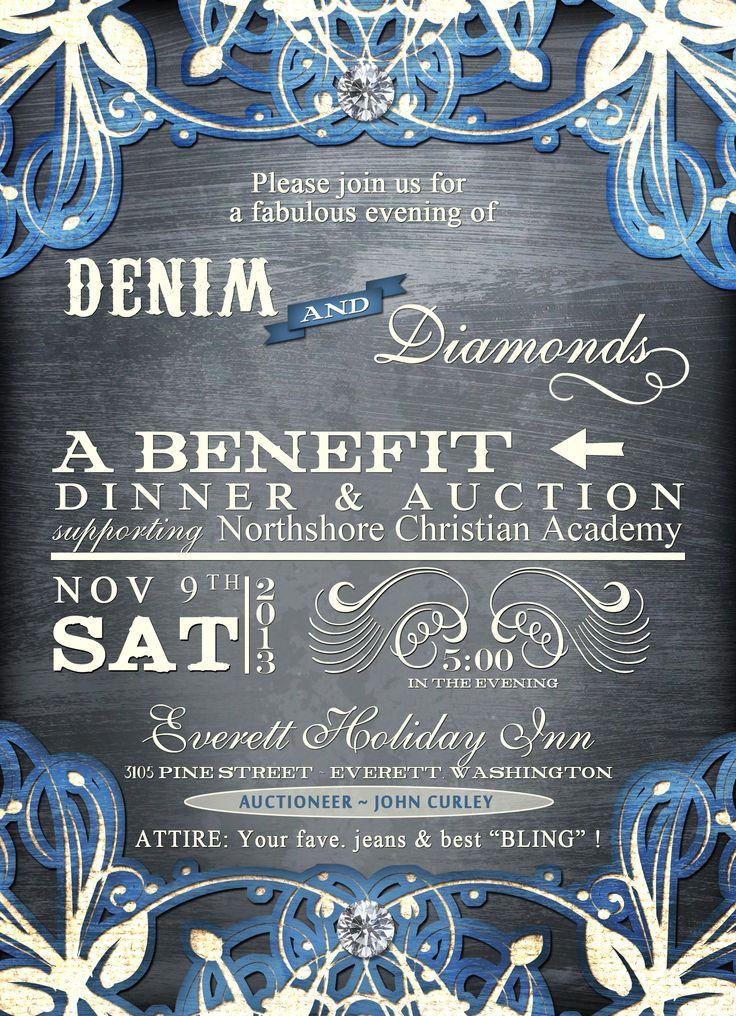 Denim and Diamonds | MCCS Auction ideas | Pinterest ...