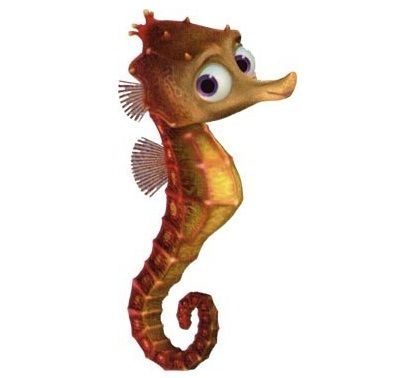 "Sheldon is an ""H2O"" intolerant seahorse and Bob's son who appears in the 2003 movie Finding Nemo and the 2016 sequel Finding Dory. One of Mr. Ray's students, Nemo meets Sheldon and his friends, Pearl and Tad, while waiting to start school. He was slapped and scolded by his father Bob for making fun of Nemo's small fin. He was also part of the group who saw the boat. Like the other children, he tries to see how close to it he can swim. When the diver appears, he flees with the rest of the…"
