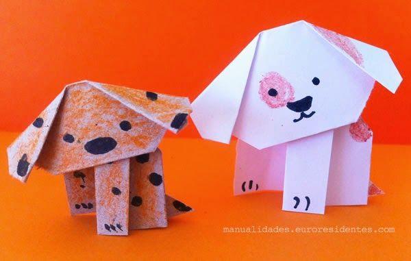 Cute Paper Dog Perrito De Papel Http Manualidades