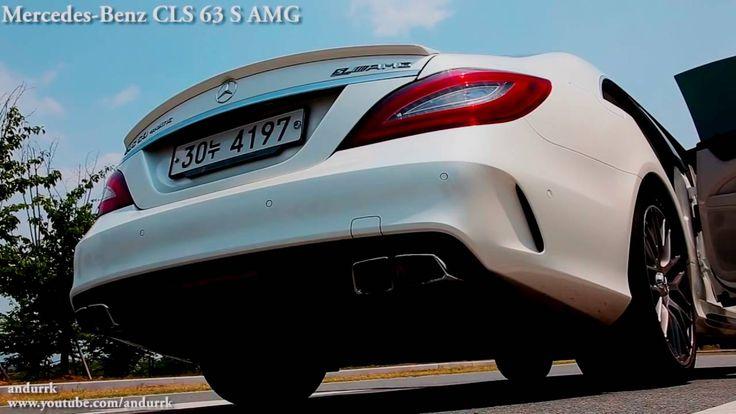 메르세데스 벤츠(mercedes benz) CLS63 AMG - 시동,배기,주행음(start, exhaust, drive soun...