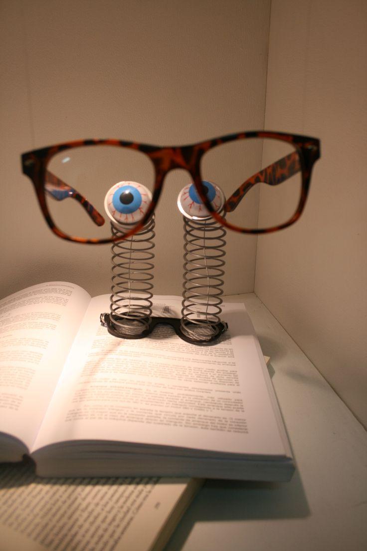 Eyeglasses display -  Eye Contact Pinned By Ton Van Der Veer