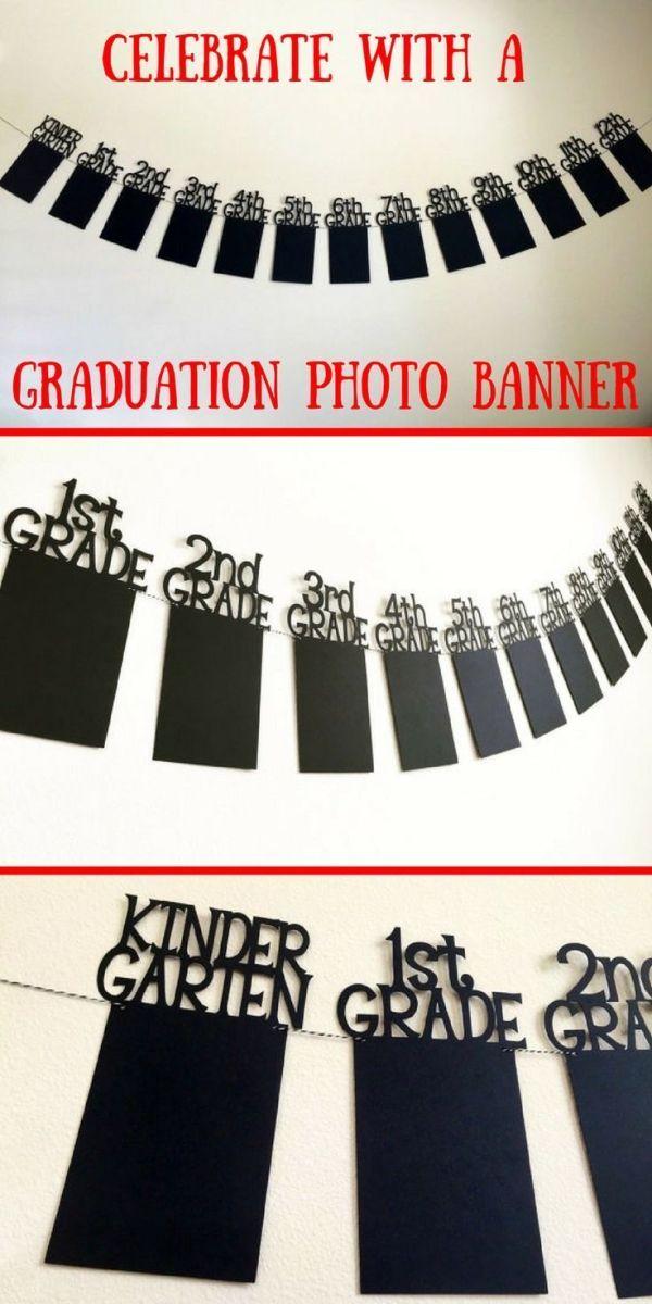 Dies wäre perfekt für die Abschlussfeier meines Sohnes! Ich kann alle seine Schulfotos zusammenstellen, um sie anzuzeigen. #senioryear #ad #graduation von adrian