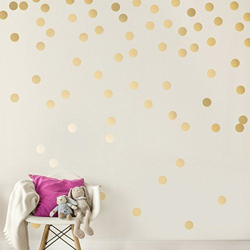 Gold Wall Decal Dots (200 Decals) | Easy Peel & Stick + S... https://smile.amazon.com/dp/B01BNWDU7S/ref=cm_sw_r_pi_dp_x_eMFmzbGEJ983Q
