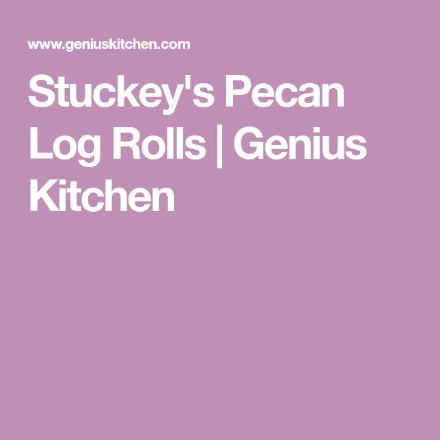 Stuckey's Pecan Log Rolls   Genius Kitchen