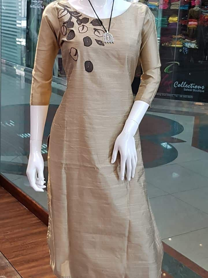 Simple Yet Stylish Neck Designs For Kurtis Simple Craft Ideas