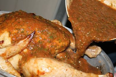 2 Suitcases: Recipe: Salvadoran Turkey (CHUMPE!) plus a South African Thanksgiving!