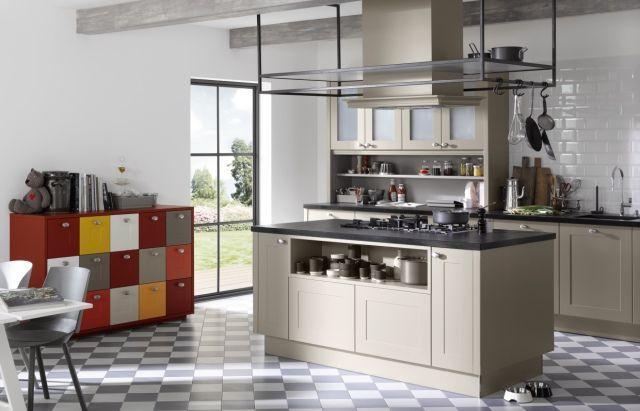 Fot. Projekt kuchni Country-house, fronty z linii Frame Lack, Nolte Küchen