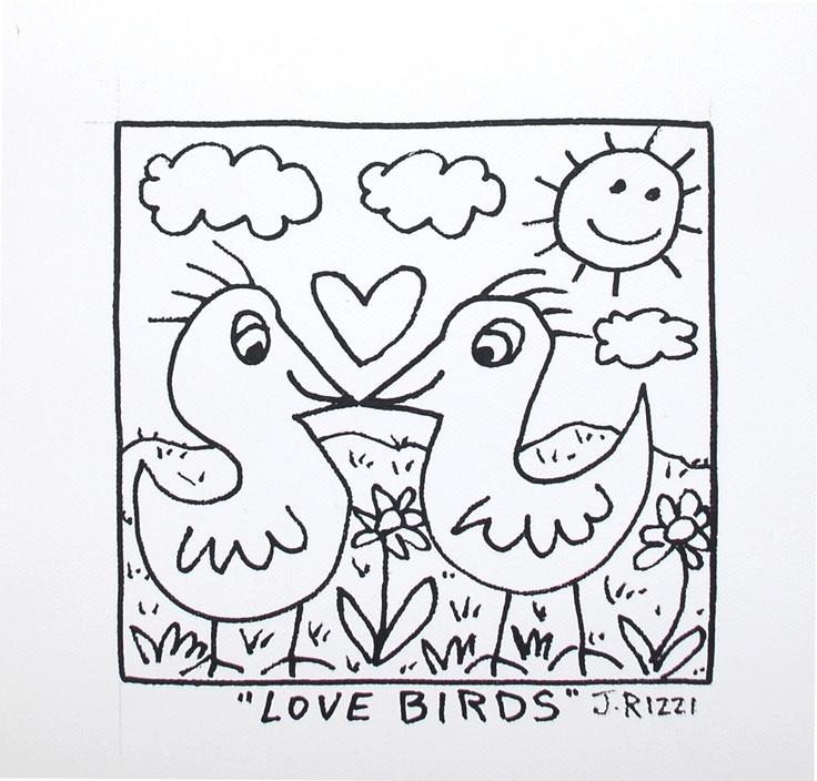 James Rizzi Birds