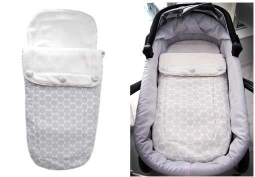 DIY pram sleeping bag (instructions in Spanish)