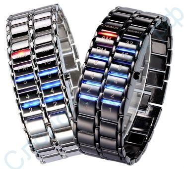 Бинарные наручные часы Самурай V2 - фото