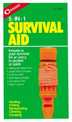 Coghlan's 5 in 1 Survival Aid