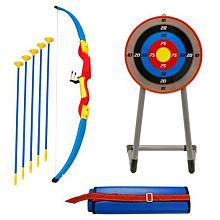 YOUNG EXPLORERS.COM Sponge Bugs Your First Archery Set- he is asking for a bow and arrow for his bday... this is cute.