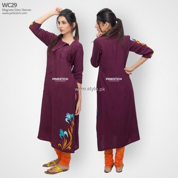 Pinkstich Winter Dresses 2013 2014 for Women