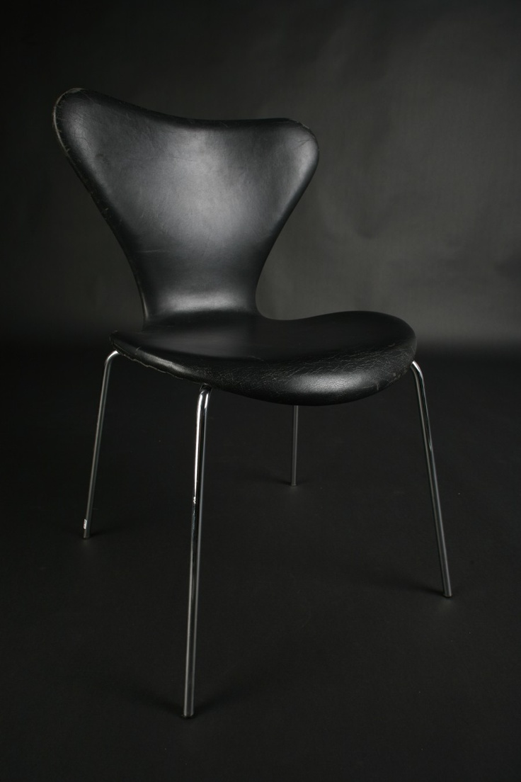 Single Chair Arne Jacobsen Leather