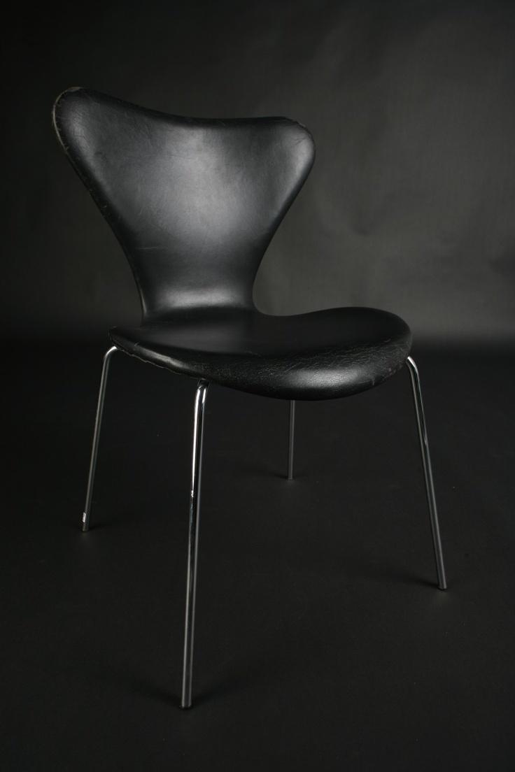 Single Chair Arne Jacobsen Leather