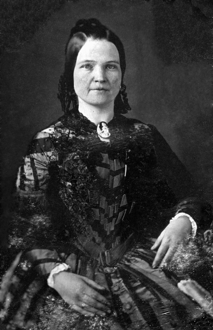 Restored portrait of Mary Todd Lincoln, 1846                                                                                                                                                      More