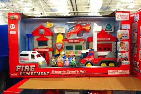 Little learner fire department electronic sound and light costco frugalhotspot toys toys - Costco toys for kids ...