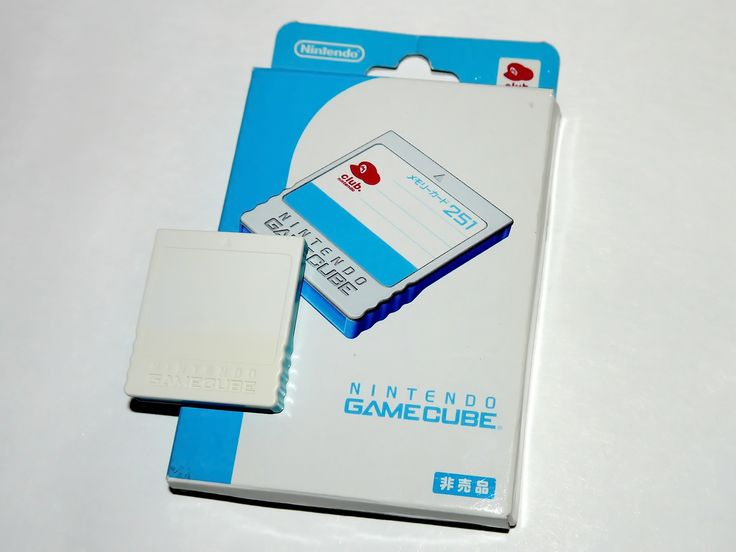 Club Nintendo Memory Card 251