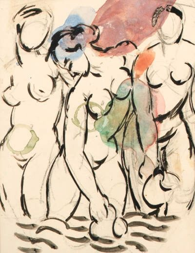 THREE GRACES by Duncan Grant