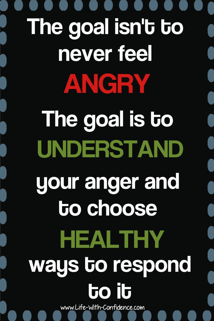 """With all the """"Be Positive"""" messages out there, it can feel wrong to get angry, but it's not only okay to feel anger, it's healthy. Here's why...  www.life-with-confidence.com"""