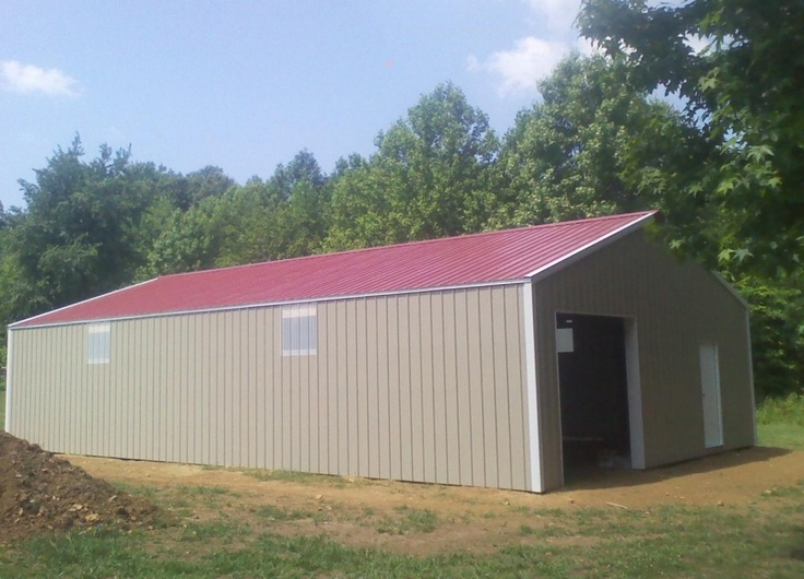 30x50x10 Post Frame Building : Images about barns on pinterest posts sheds and