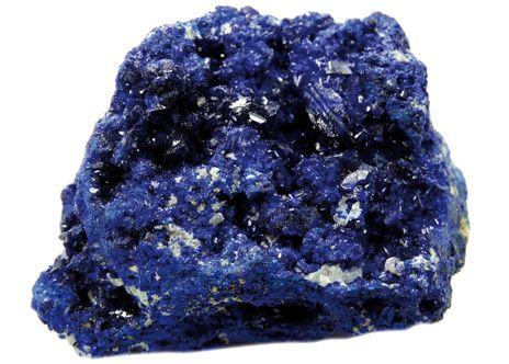 L'AZURITE, la Pierre du Paradis. Composée de carbonate de cuivre basique, l'azurite est une pierre rare d'un beau bleu indigo à la formule chimique très proche de la malachite. C'est la pierre de la sagesse et de l'ouverture de la conscience. Les Mayas utilisaient ses puissantes vibrations pour développer et renforcer leurs dons psychiques et accéder à leur subconscient | Rebelle-Santé