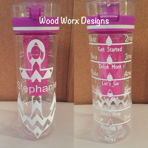 Hydration bottle  28 oz. by WoodWorxDesigns on Etsy