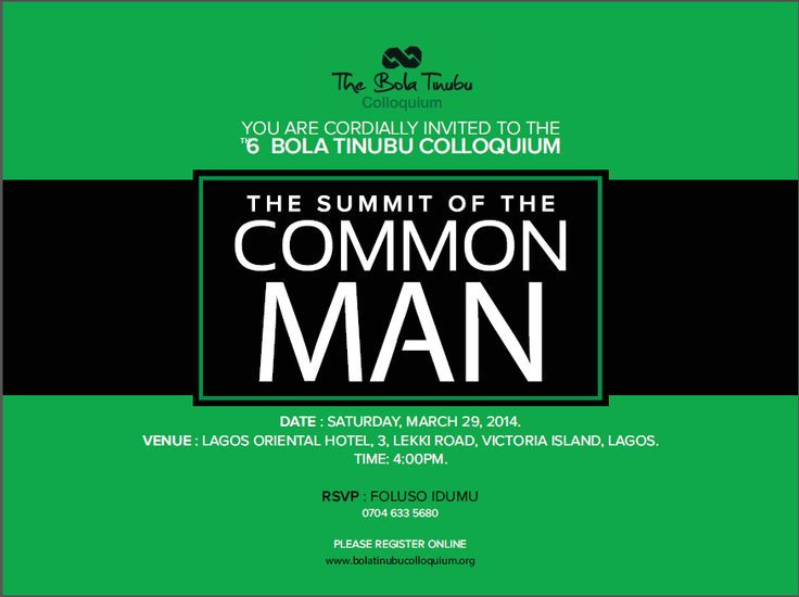 MRSHUSTLE PHOTOS+VIDEOS: WHAT WENT DOWN AT THE 6TH EDITION OF BOLA TINUBU COLLOQUIUM