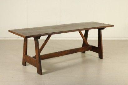 Tavolo fratino legni antichi