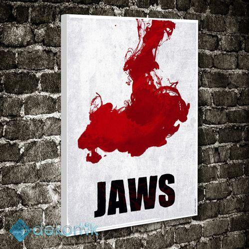 Jaws Tablo #film_tabloları #pop_art_tablo #Pop_art_kanvas_tablo