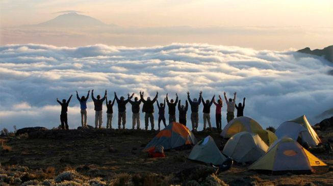 Climb to the top of #MtKilimanjaroTrek, the world's tallest free-standing mountain & highest point in Africa. http://www.babakili.com/trekking.htm