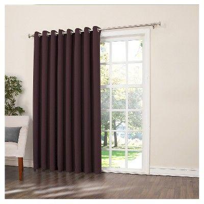 25 best ideas about door panel curtains on pinterest for Best energy efficient patio doors