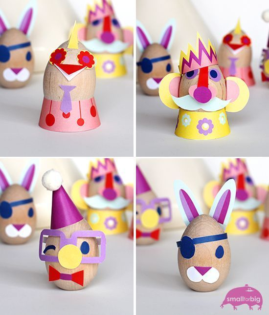 Free printable easter egg craft from Small for Big