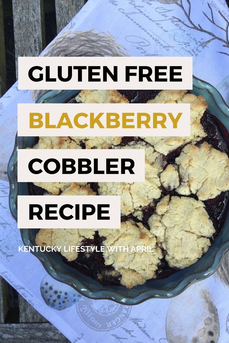 Blackberry Cobbler is one of my favorite desserts to make from scratch; especially when I use freshly picked berries. I created my own gluten-free Blackberry Cobbler recipe and I like the sweeter taste coconut flour produces. It's a simple recipe to prepare and so delicious! Give it a try and let me know what you think. #kentucky #cobbler #blackberrycobbler #desserts